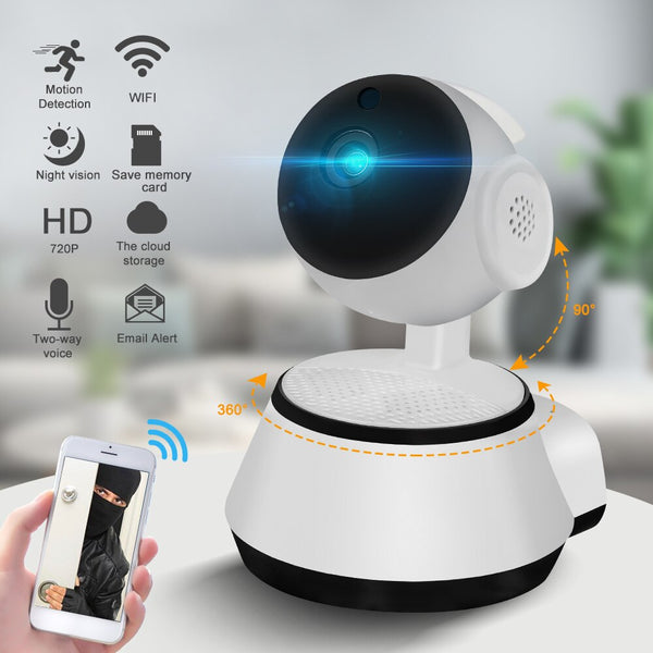 Home Security IP Camera Wireless Smart WiFi Camera WI-FI Audio Record Surveillance Baby Monitor Memory Card For New Year Gift