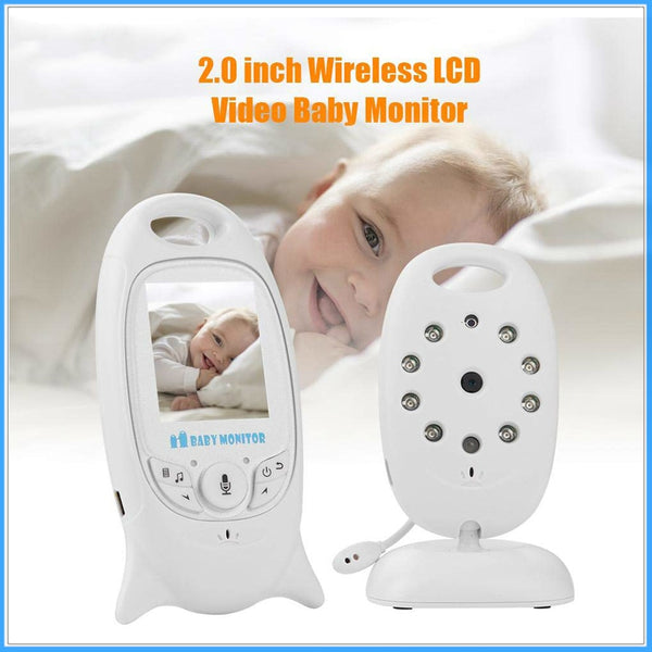 OGV VB601 wireless video baby monitor color security camera 2 way night vision infrared LED temperature monitoring and 8 lullaby