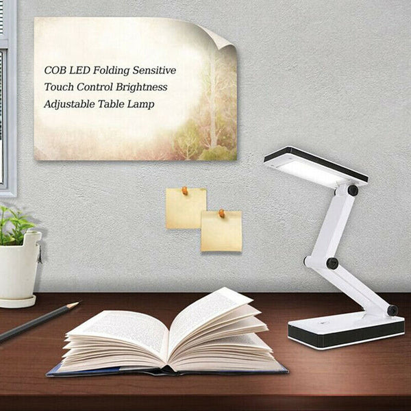 Hot Sales Foldable Desk Lamp Dimmable Eye Care LED Touch-Sensitive Controller USB Charging Port Table Lamp Night Light