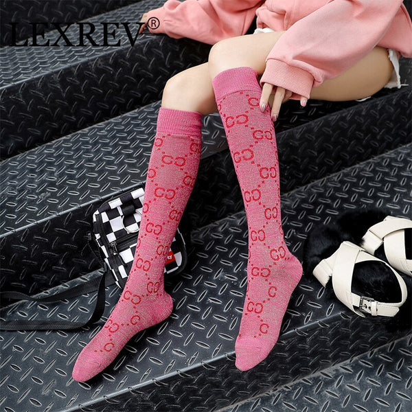 Women Stockings Over Knee Socks Compression Socks Best Long Socks Medical Nursing Travel and Flight Socks Unisex High Sock