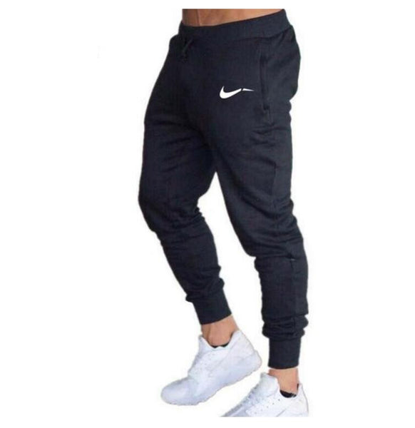 2019 Fashion Men's Workout Pants Fitness Casual Long Pants Gyms Joggers Men Skinny Sweatpants Jogger Tracksuit Cotton Trousers