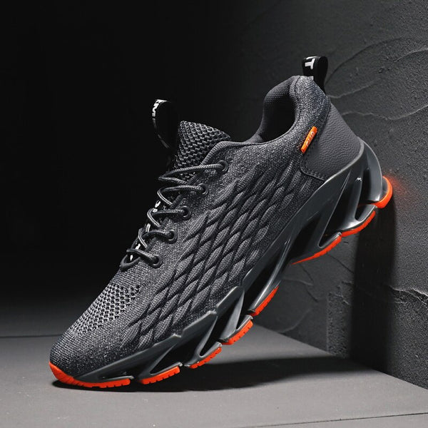 Casual Fashion Men's Sneakers Flying Weaving Mesh Breathable Men Shoes Outdoor tenis Footwear Zapatillas Hombre Large size39-46