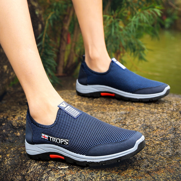 Leader Show Sneakers For Men Air Mesh  Breathable Comfortable Man Trend Sneaker 2020 New Zapatillas Hombre Hiking Shoes For Men