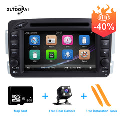 ZLTOOPAI Car DVD Player 2 Din Car Radio GPS For Mercedes Benz CLK W209 Vito W639 Viano Vito Car Multimedia Player Auto Stereo
