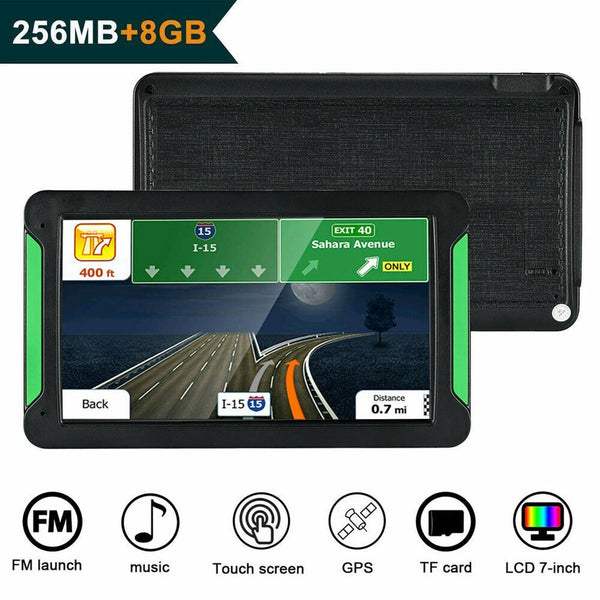 7 Inch Gps Navigator Portable Navigator 8Gb-256Mb Gps Navi Navigation Device Maps Truck Car Auto Touch Screen