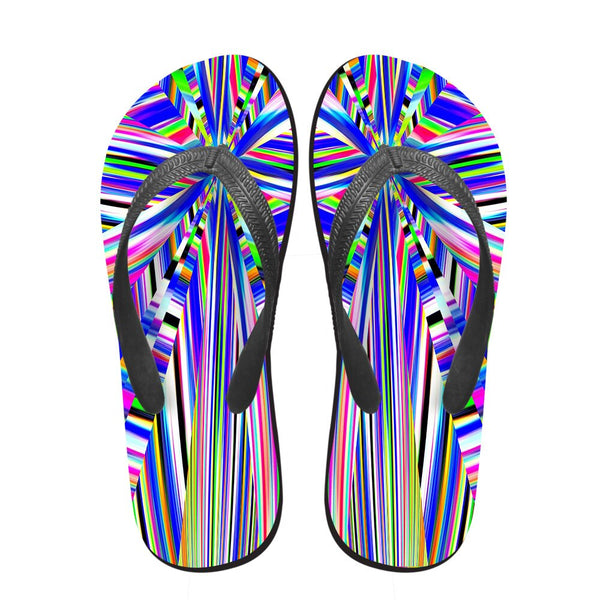NOISYDESIGNS Famous Brand Men's Flip Flops Fashion Summer Beach Rubber Slippers Male Outside Flats Sandals Shoes Men Flip-Flops