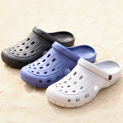 Dropshipping Summer Men's Garden Clogs Slippers EVA Casual Fashion Soft Bottom Sandals for Men Men Lightly Mule Big Size Slipper