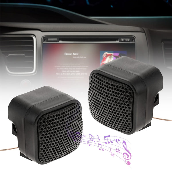 500W Car Mini Tweeter Speakers Auto Horn Audio Music Stereo Speaker Audio Loudspeaker DC 12V For Car/RV/Truck/Boat Audio System