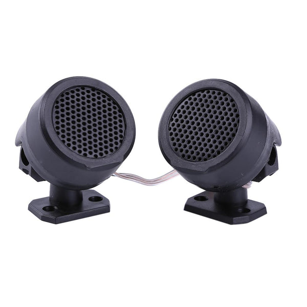 Car Speakers Half Dome Universal Mini Car Loud Speaker Tweeter High Efficiency Portable Audio Sound System with Stand Sound