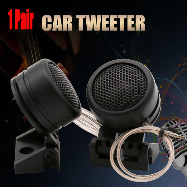 1 Pair 40W High Efficiency Car Mini Dome Tweeter Modified Horn Audio Tweeter Head Small Speaker TP-366 For All Car Audio System