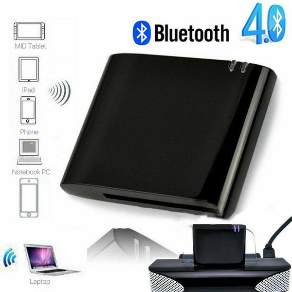 Mini 30Pin Bluetooth 4.1 A2DP Music Receiver Wireless Stereo Audio 30 Pin Adapter For Sounddock II 2 IX 10 Portable Speaker