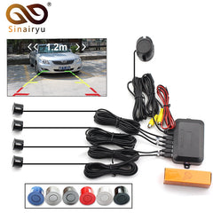 Dual Core Car Video Parking Sensor Reverse Radar Sensors Alarm Visible System , Display Image and Sound Alert For TFT Monitor