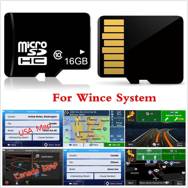 16GB Micro SD Card Car GPS Navigation 2018 Map software for Europe,Italy,France,UK,Netherlands,Spain,Turkey,Germany,Austria usa