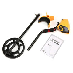 MD3010II Professional Portable Underground Metal Detector Handheld Treasure Hunter Gold Digger Finder LCD Display