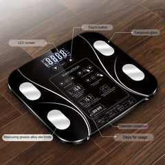 5-180kg Body Weight Scale Body Fat Electronic Scales Floor  Digital Scale Water Mass Health Precision Smart Weighing Scales