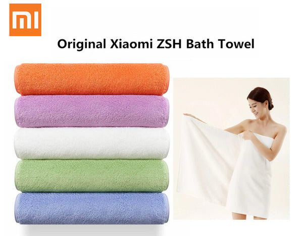 Xiaomi ZSH Bath Towel Home Textile TowelWomen Robes Bath   Antibacterial Water Absorption Wearable Towel Dress Women