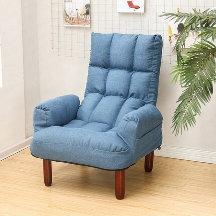 B Lazy Sofa Single Computer Sofa Chair Simple Net Red Section Dormitory Chair Feeding Breastfeeding Chair Lunch Break Recliner