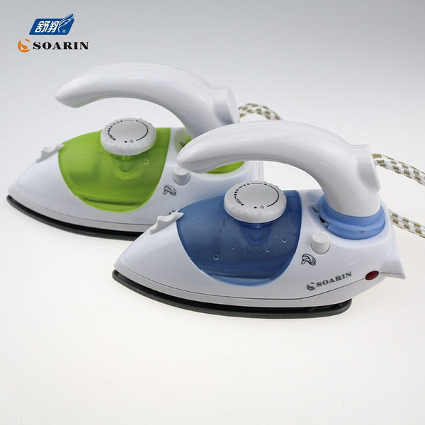 800W Travel Iron Mini Steam Iron Portable Plancha De Vapor Electric Irons Steam Iron for Clothes Termoadhesive Parcels flatiron