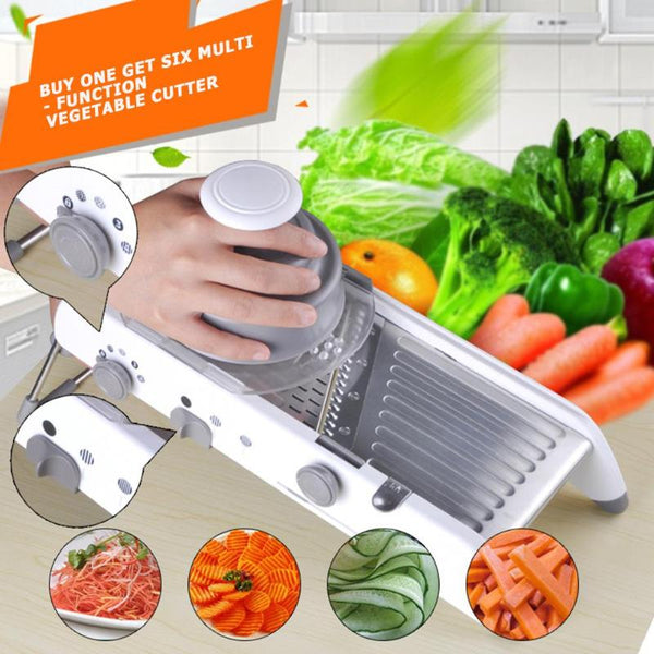 Mandoline Slicer Vegetable Cutter Stainless Steel Multifunctional Fruit Onion Potato Cutter Chopper Kitchen Gadgets