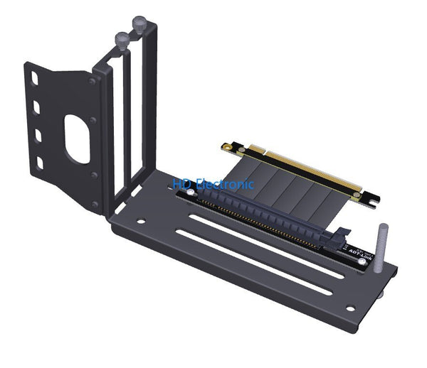 Graphics Cards Vertical Bracket PCIe 3.0 x16 graphics video card to PCIe 3.0 x16 slot extension cable for ATX chassis