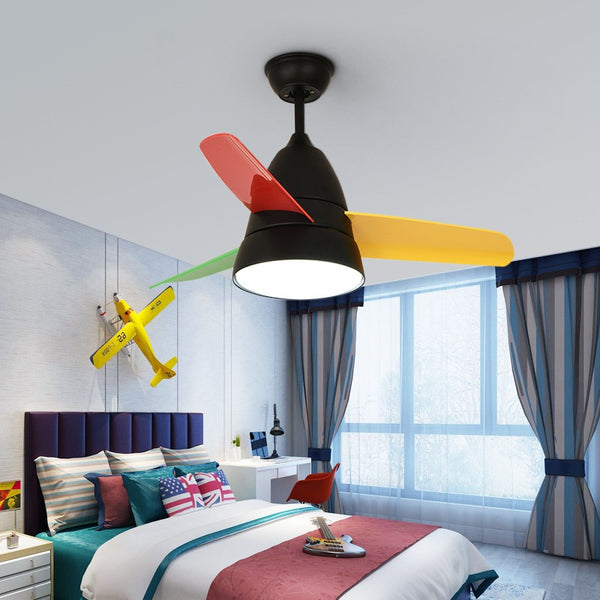 Led Ceiling Fan Lamp Lighting Remote Control for living room dining room bedroom kids room
