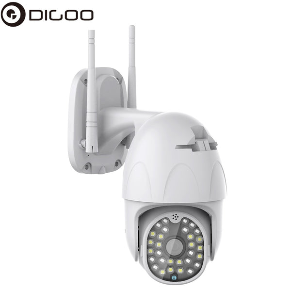 DIGOO DG-ZXC41 1080P PTZ IP Camera Outdoor Smart Speed Dome Camera Wireless Wifi Security Camera Pan Tilt 4X Digital Zoom CCTV