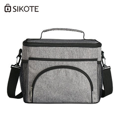 SIKOTE Lunch Bags Picnic Travel Storage Canteen Bag thicken Storage Portable Lunch box Thermal Insulated Cooler Bag Fresh Keep