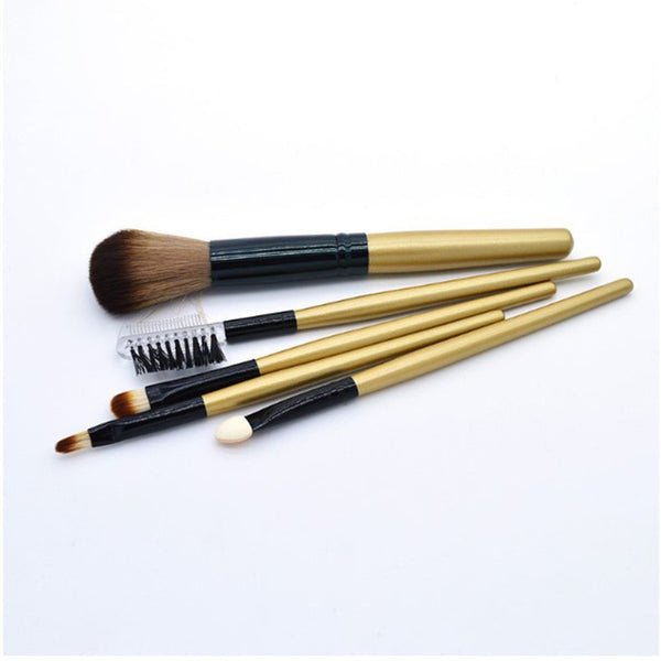 Fashion Makeup Brushes Wooden handle Brush Professional Brushes Set Comfortable Portable Makeup Accessories