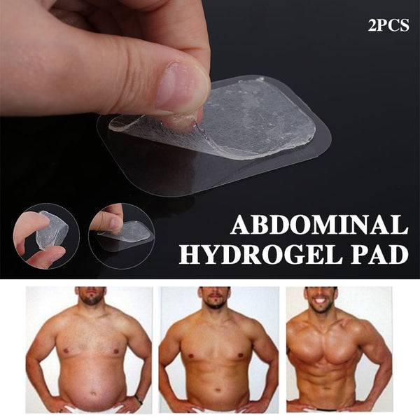 Hydrogel Pads Massage Fitness Stickers Glue Transparent Household Products Work out Hydrogel Paste Durable Sports Abdominal
