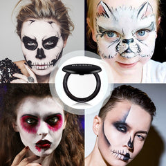 Body Paint Pure White Foundation Halloween Cosplay Vampire Zombie Makeup Realistic Stage Special Effect Cosmetic Foundation