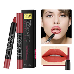 NEW Sexy Matte Lip Stick Lipliner Pencil 19 Color Nude Lasting Lips Liner Pen Set Beauty Makeup Tool Cosmetic 1 Pc TSLM1