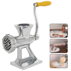 Aluminium Alloy Manual Meat Grinder Noodle Sausage Handheld Making Gadgets Mincer Home Kitchen Cooking Tools Food Processor