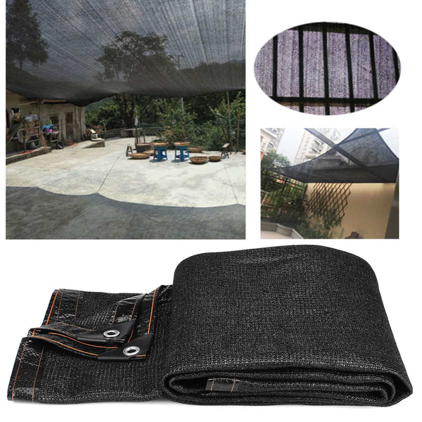 Sunshade Net Anti-UV 85% Shading Rate Outdoor Garden Sunscreen Sunblock Shade Cloth Net  Plant Greenhouse Car Cover