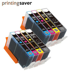 8pcs 364xl 364 Compatible ink cartridge For HP 5510 5515 6510 7520 6520 5520 B010a B109a B209a B209c Deskjet 3070A printer