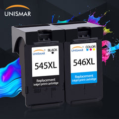 Unismar PG545 CL546 Ink Black Tri Color Cartridge for Canon PG 545 CL 546 Pixma IP2850 MX495 MG2450 MG2550 MG2950 NS28 Printer