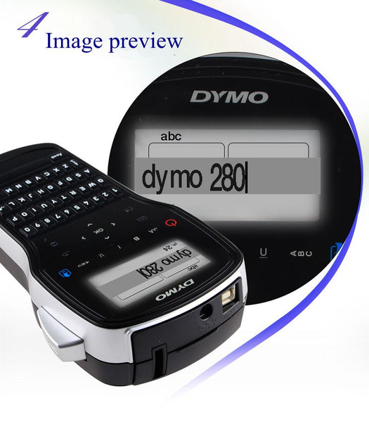 Label machine Best LM-280 Chinese and English handheld portable label printer can be connected to the computer LM280
