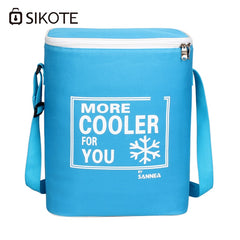 SIKOTE Lunch Bags Canteen Bag Thicken Storage Portable Thermal Insulated Food Picnic Multi-Function Fresh Keep Cooler Bag