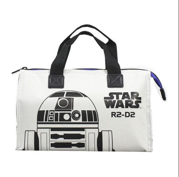 Cartoon Star Wars Nylon Hand Lunch Food Bag Pouch Shopping Bag Handbag Girl Boys CASE 25x9x16 cm
