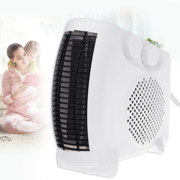 Mini Electric Heater Portable Space Home Office Winter Warmer Fan Air Heater