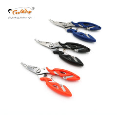 1Pcs Stainless Steel Fishing Scissors Line Cutter Lure Bait Remove Hook Tackle Tool Kits Accessories