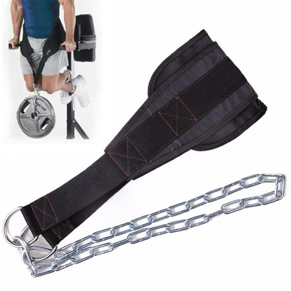 Sport Belt With Chain Fitness Product Adjustable Gym Musculation Waist Lifting Weights Squat Dip Pull Up Weightlifting Equipment