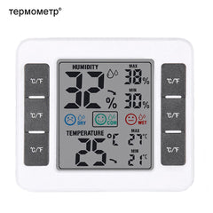 Magnetic Digital LCD Home Thermograph Temperature Thermometer Hygrometer Humidity Meter Monitor for Greenhouse,Storage Weather