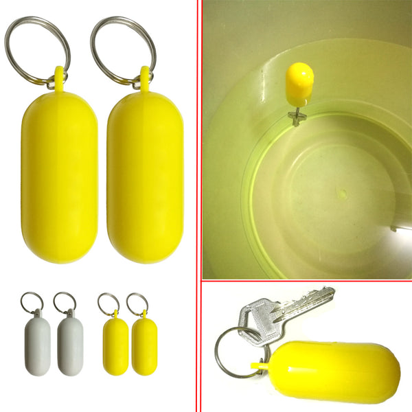 Kayak Floating Keyring Fender Buoyant Key Ring Marine Sailing Boat Float Canal Keychain