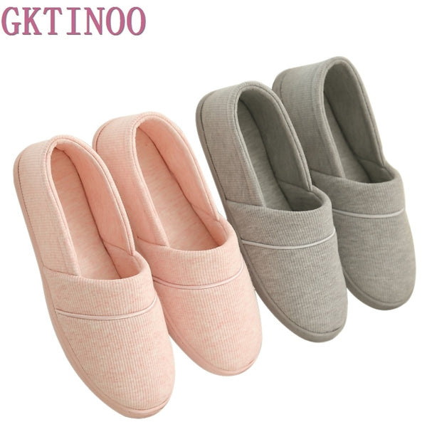 New 2019 Winter-Autumn At Home Thermal Cotton-Padded Slippers Women's Cotton Slippers Indoor Slippers With Soft Outsole Shoes