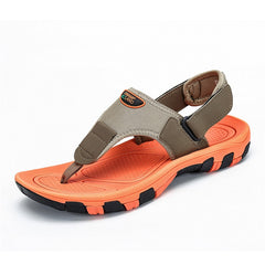 Outdoor Beach Sandals Summer Shoes Men Breathable Slides Flip Flops Anti-skid Mules Men's Clogs Casual Shoes Zapatos De Hombre