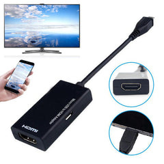EastVita Micro USB To HDMI HD Cable Converter Adapter for  PC laptop TV TV-Box and other VGA output devices r15