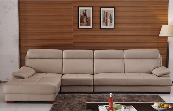 modern style  living room Genuine leather sofa a1309