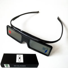 Active Shutter Bluetooth RF 3D Glasses 480Hz for Samsung 3D TV EPSON Projector TW6600/5350/5030UB/5040UB & Sony W800B Series
