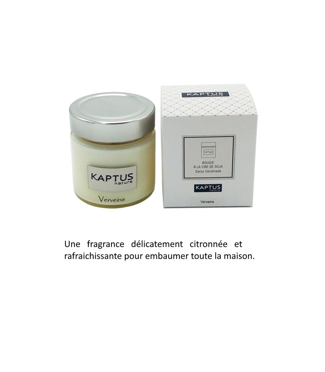 Bougie Kaptus Intemporelle Verveine