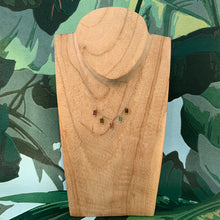 Charger l'image dans la galerie, Collier Indie Tourmaline Rectangle - Jolly Jungle